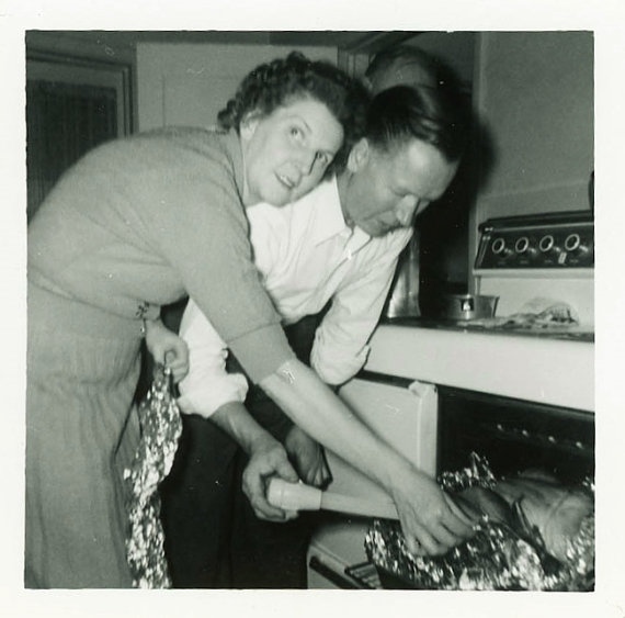 1950s-thanksgiving-photo