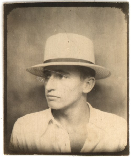 1920s Teenage Man vintage photo