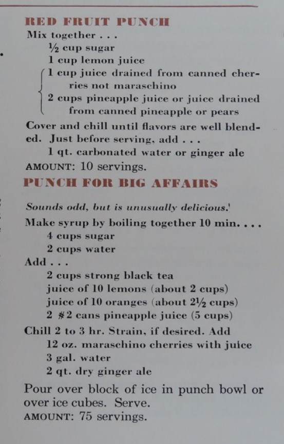 Party Foods of the 1950's - The Vintage Inn