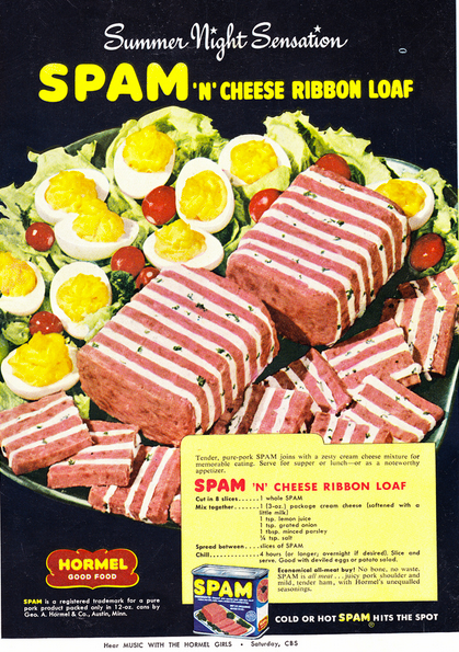 Cuisine Anne 1950 : Party foods of the s vintage inn