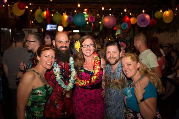 Toronto Vintage society tiki party 2016