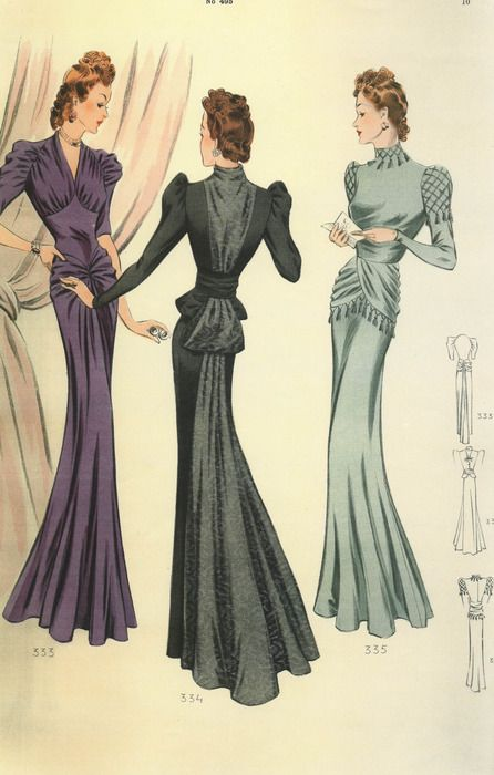 1940s-vintage-fashion-illustration