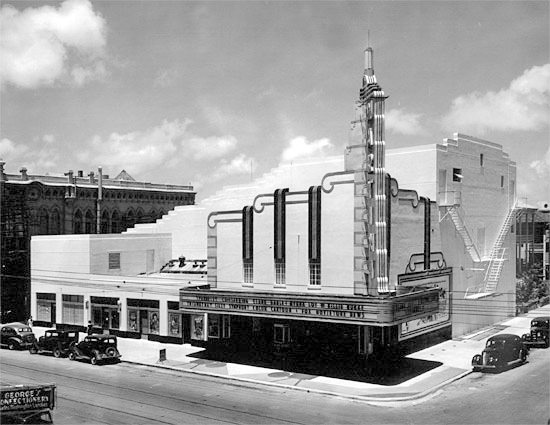 MARTINI THEATRE-Galveston Texas Art Deco