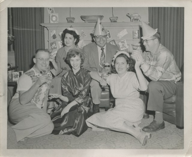 vintage New Years Eve Party image