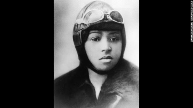 Bessie Coleman 1920s vintage photo