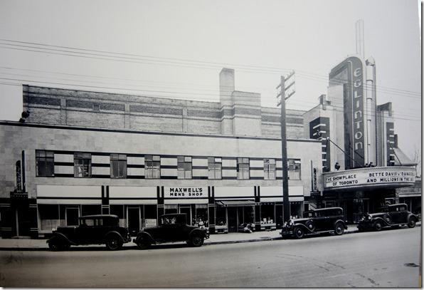 Eglinton Theatre 1936 Toronto Archives