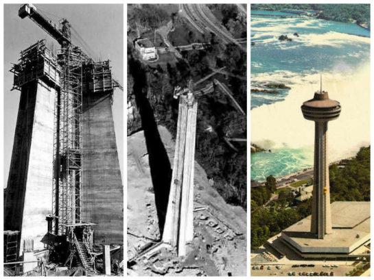 Skylon Tower 1960s vintage image