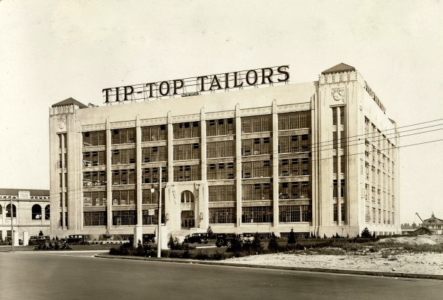 Tip Top Tailers Building 1930s Vintage Image