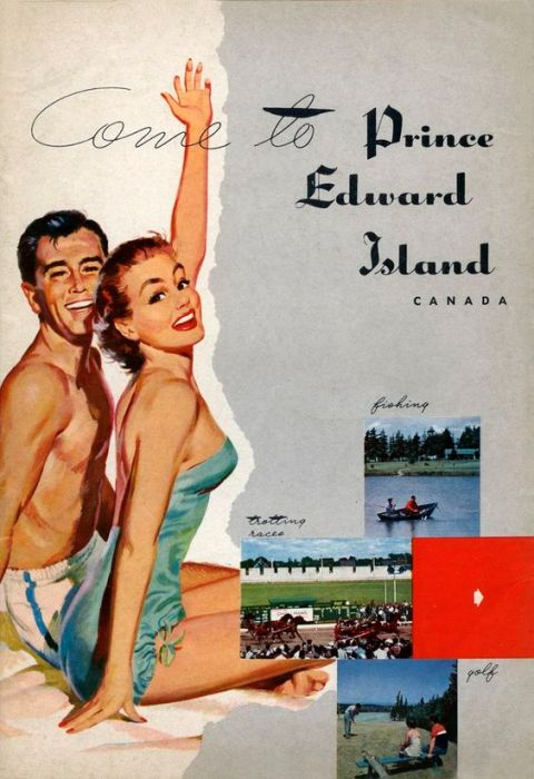 vintage Prince Edward Island advertising
