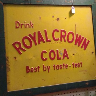 RC Cola Vintage Taste Test Sign