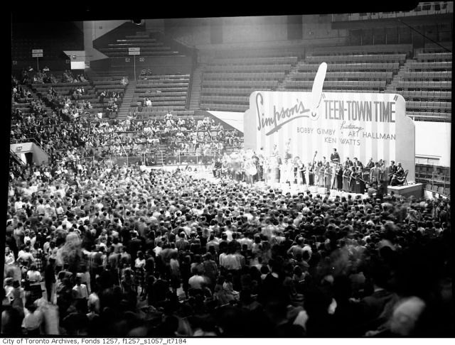 1940's Simpsons Sears Teen Town Time Dance at Maple Leaf Gardens