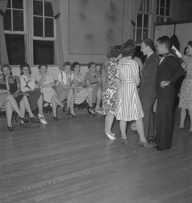 1940's social dance vintage image library and archives canada