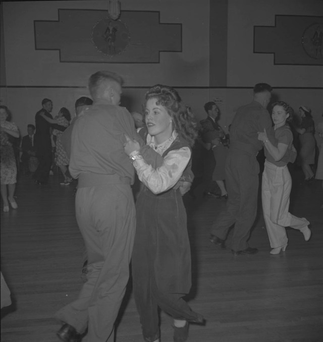 1940's swing dancing vintage image library and archives canada