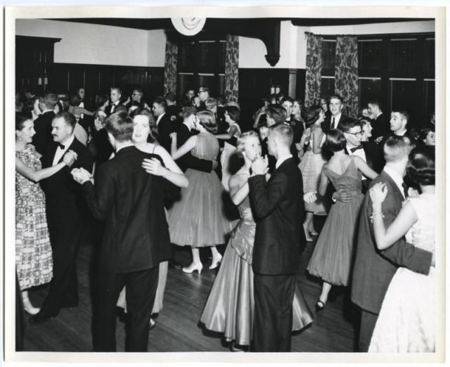 1950's dance vintage image Emma Willard School