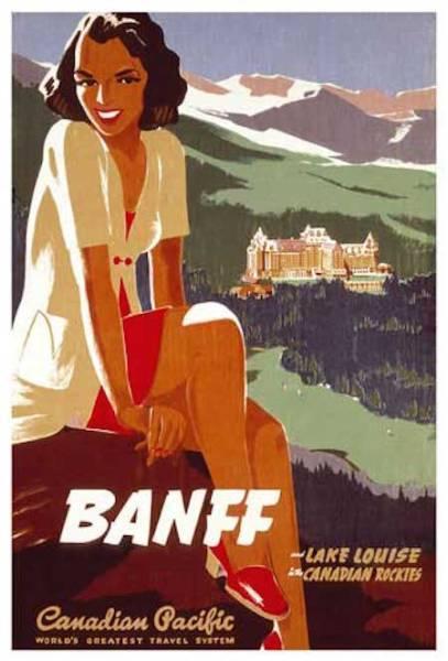 CPR-Vintage-Banff-Image-Poster