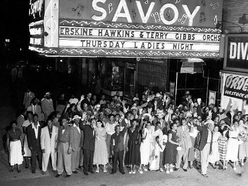 savoy-ballroom 1930s 1940s vintage image