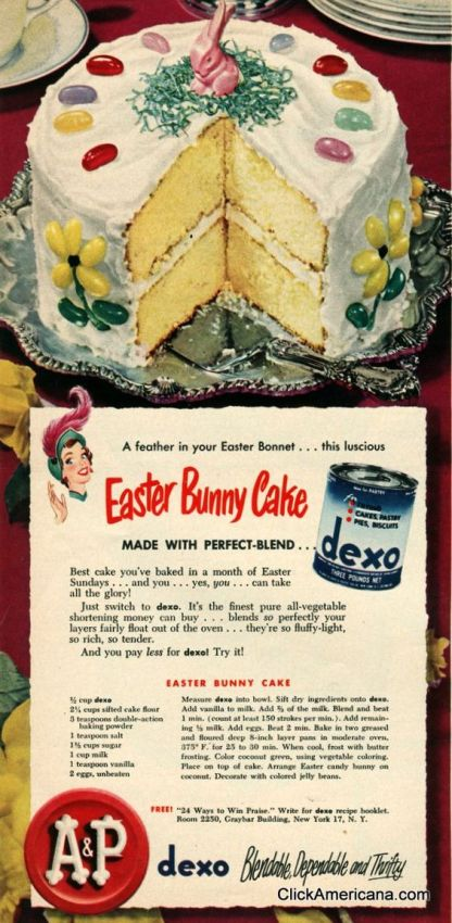 The vintage easter roundup the vintage inn for 416 americana cuisine