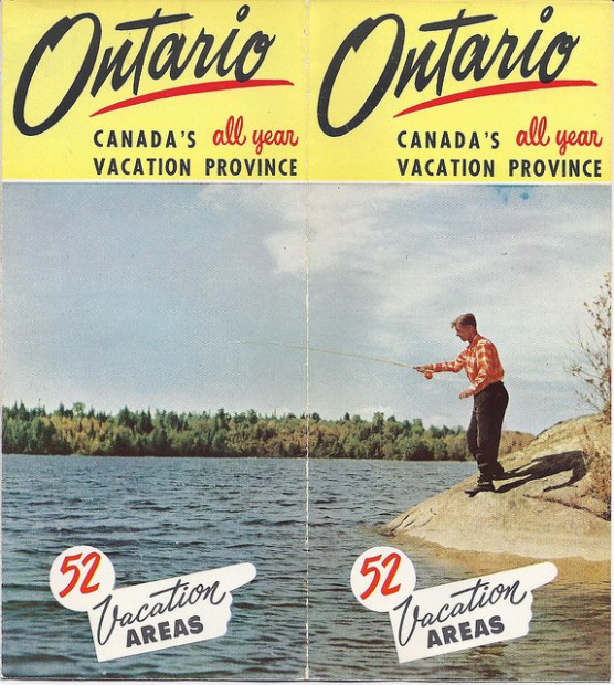 vintage Ontario Travel Brochure