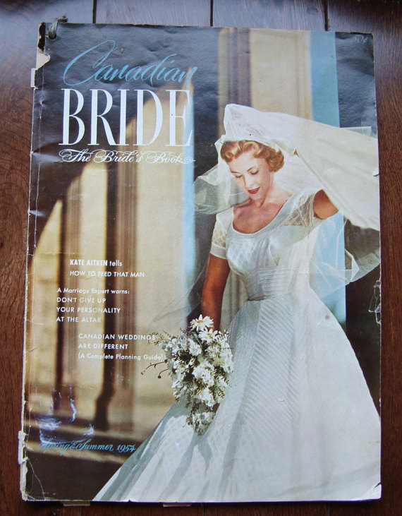 1954 Spring & Summer Canadian Bride - The Bride's Book