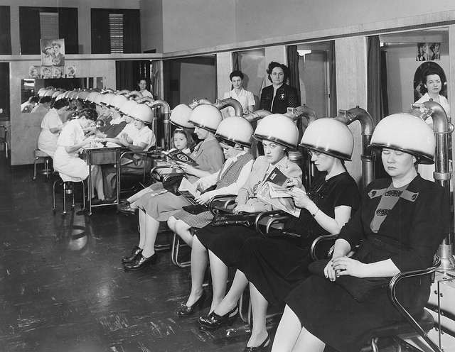 vintage hair dryers image