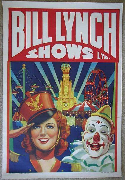 Bill Lynch Shows Carnival Posters