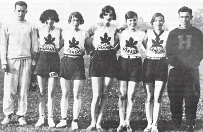 1928 womens olympic team the matchless 6 vintage image