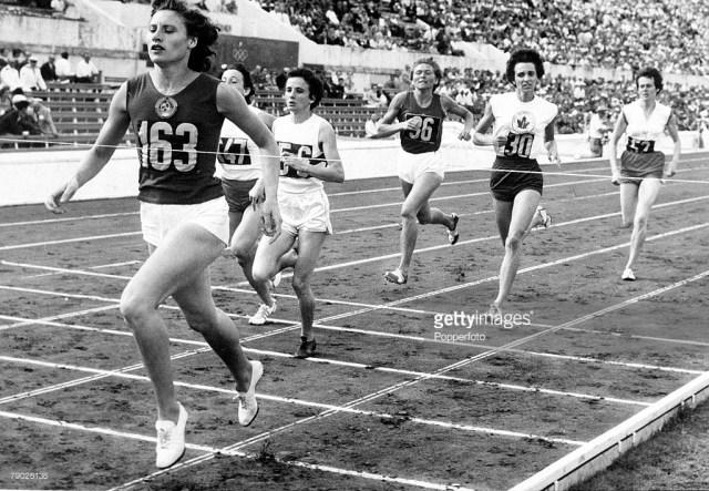 1960s olympics 800 metre womens race