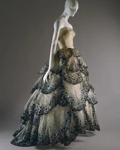 Christian Dior 1949 1950 dress