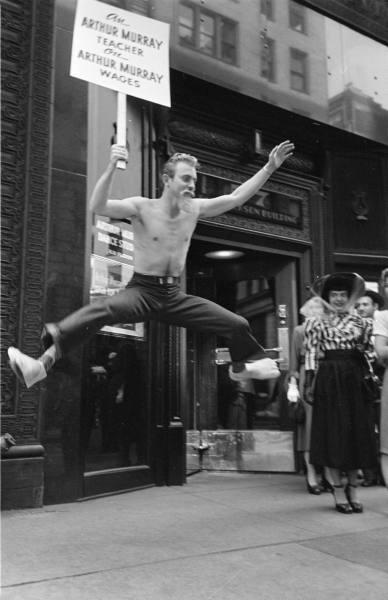 LIFE Dancing Teachers Strike Sept 9th, 1949 Vintage Image 11