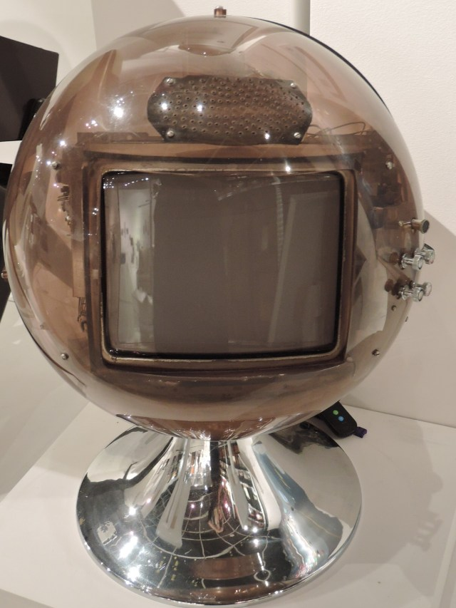 Space Age vintage televison at Musuem of Television
