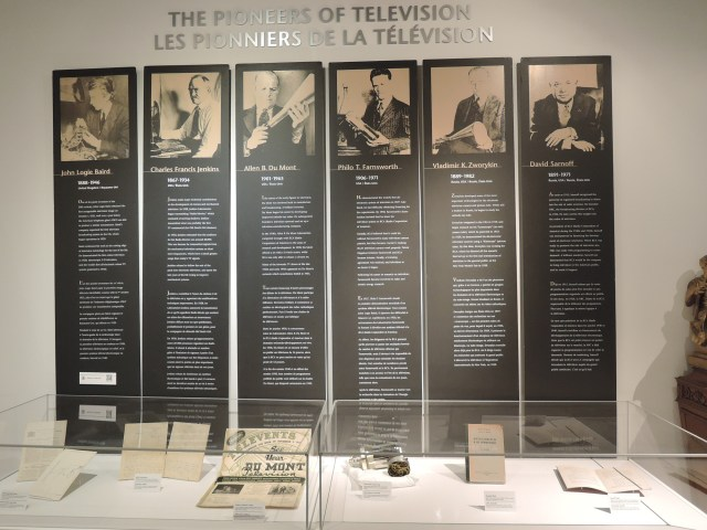 The pioneers of Television vintage inn blog museum of television