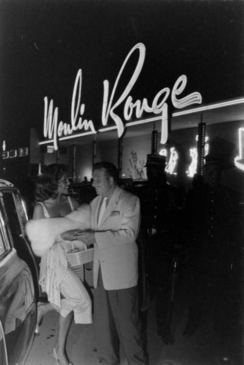 Moulin Rouge, Las Vegas, 1955