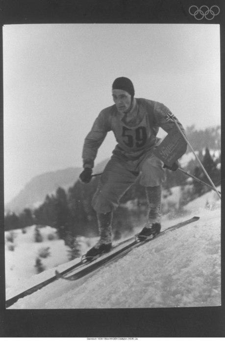 alpine skiing olympics 1936 HAGEN Oddbjorn