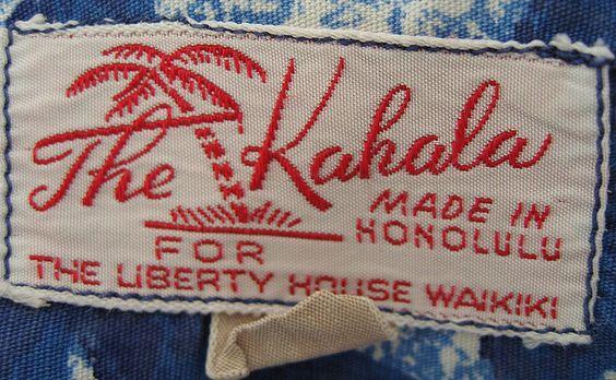 Vintage Clothing Labels,Hidden Works of Art , The Vintage Inn