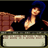 Retro Revisited: Elvira - Mistress of the Dark (Commodore Amiga)