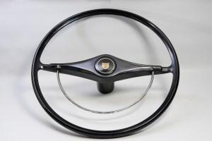 Jaguar Black Steering Wheel - 17 in. Steering Wheel