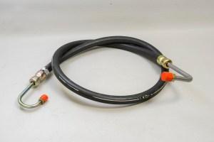 Jaguar C37742 - High Pressure Power Steering Hose (XJ w/ Carbs), NOS