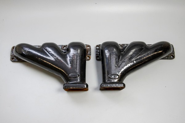 Jaguar C18396/7 - Exhaust Manifold, Front and Rear
