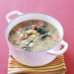 Menu Plan and Resources + Sausage, Kale and Potato Soup Recipe