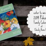 My FAVORITE Mom-friendly Planner :: The Polestar Family Calendar GIVEAWAY