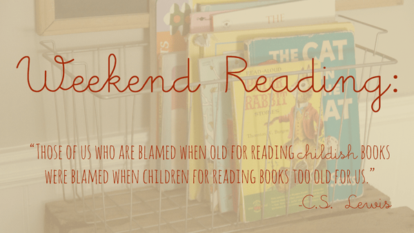 Weekend Reading :: Vintage  Kids | Modern World