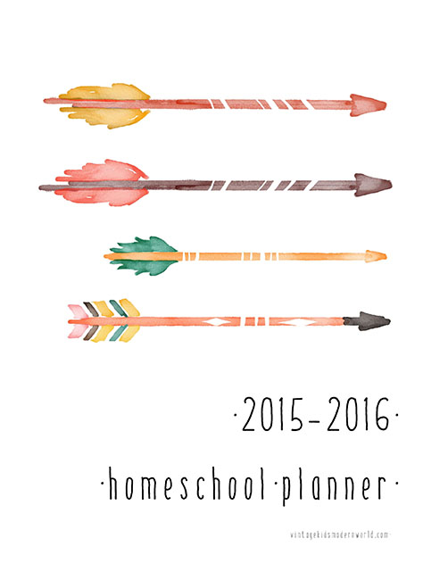 Charlotte Mason-Inspired 2015-2016 Homeschool Naturalist Planner :: Vintage Kids | Modern World Blog