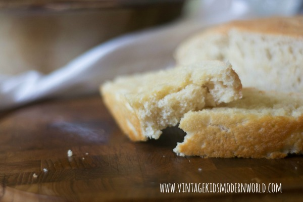 Butter Crisp Peasant Bread :: Vintage Kids | Modern World Blog