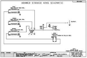Kramer Striker Custom FR424CM