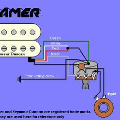 Guitar Wiring Diagrams 1 Humbucker Single Coil Usb 2 0 Diagram Kramer Information And Reference