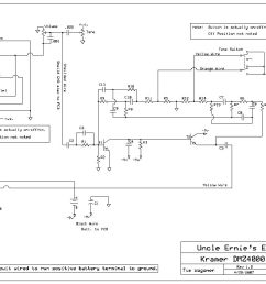 kramer wiring information and reference dmz 4000 preamp schematic [ 1050 x 793 Pixel ]