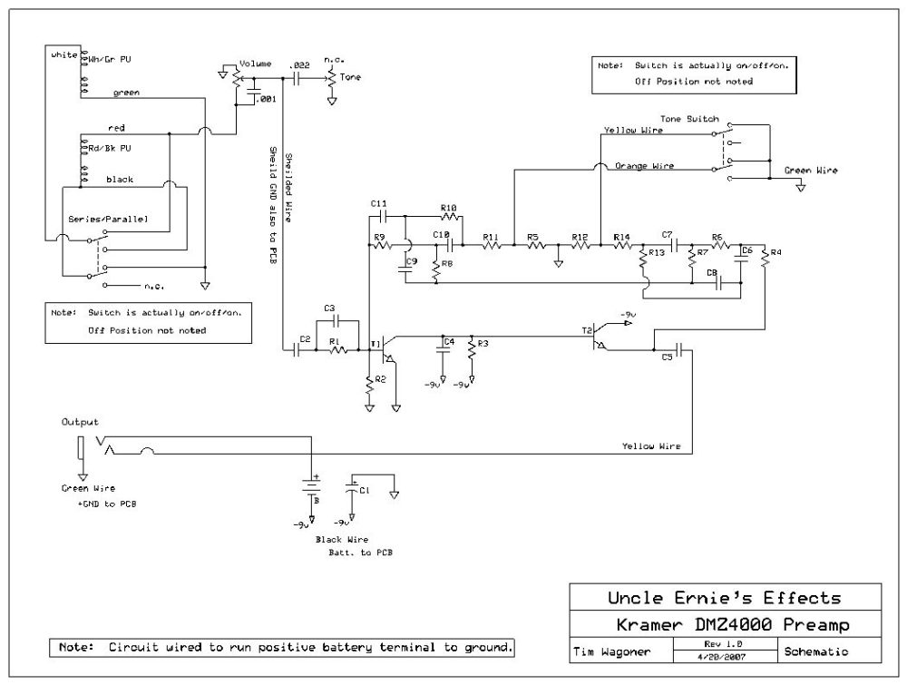 medium resolution of kramer wiring information and reference dmz 4000 preamp schematic