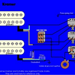 Electric Guitar Pickup Wiring Diagram 2010 Toyota Tundra Electrical Diagrams Kramer Image All Data Information And Reference Truck