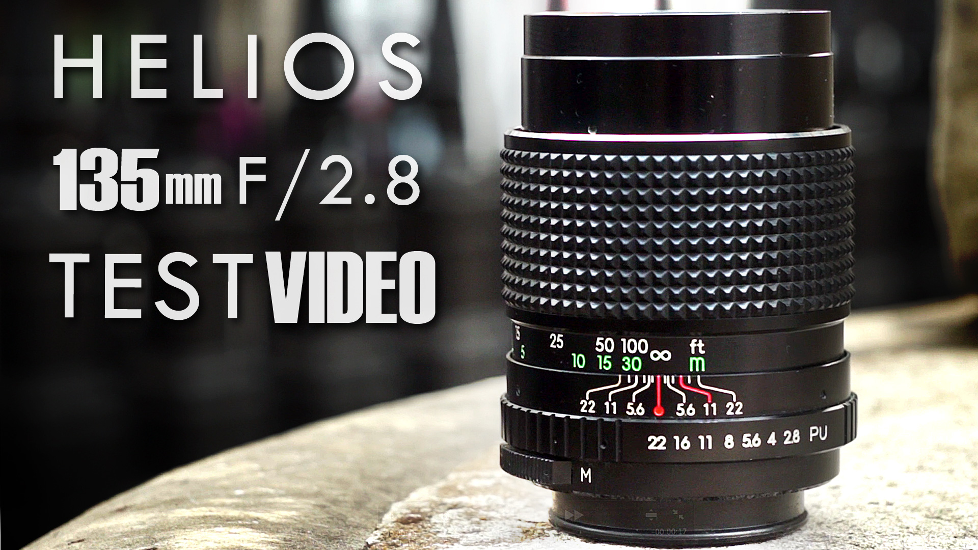 HELIOS 135mm F/2.8 TEST VIDEO