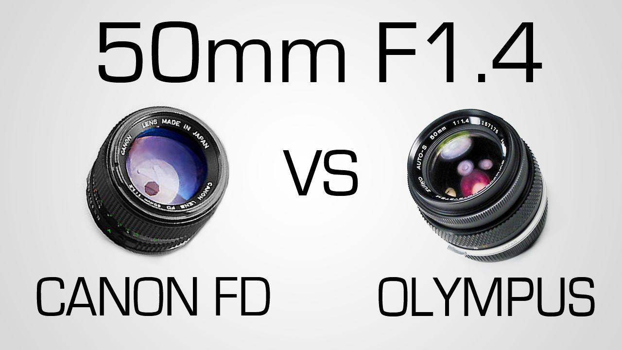Canon FD VS Olympus Zuiko | Battle of 50mm F/1.4 Primes | Part 2
